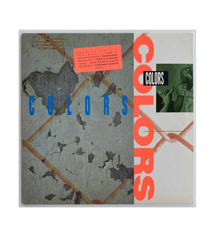 Various - Colors (Original Motion Picture Soundtrack) (LP, Album, Comp) mesvinyles.fr