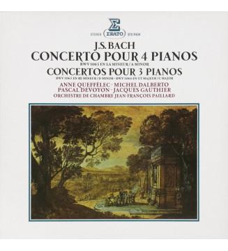 J. S. Bach*, Anne Queffélec - Michel Dalberto, Pascal Devoyon - Jacques Gauthier, Orchestre De Chambre Jean-François Paillard -
