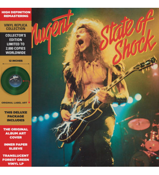 Ted Nugent - State of Shock (LP, Album, RE, Tra) mesvinyles.fr
