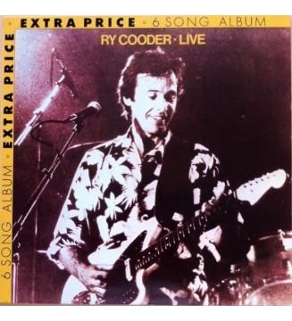 Ry Cooder - Live (LP, MiniAlbum) mesvinyles.fr
