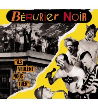 """Bérurier Noir - Ils Veulent Nous Tuer (12"""", MiniAlbum, RE) mesvinyles.fr"""