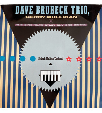 Dave Brubeck Trio*, Gerry Mulligan & The Cincinnati Symphony* Conducted By Erich Kunzel - Elementals (LP, Album, RP) mesvinyles.