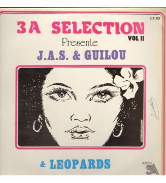 J.A.S.* & Guilou & Leopards* - 3A Selection Presente J.A.S. & Guilou & Leopards (LP) mesvinyles.fr