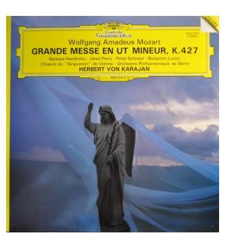 Wolfgang Amadeus Mozart, Wiener Singverein & Berliner Philharmoniker - Grande Messe En Ut Mineur, K.427 (LP) vinyle mesvinyles.f