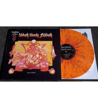 Black Sabbath - Sabbath Bloody Sabbath (LP, Album, Ltd, RE, RP, Ora) vinyle mesvinyles.fr