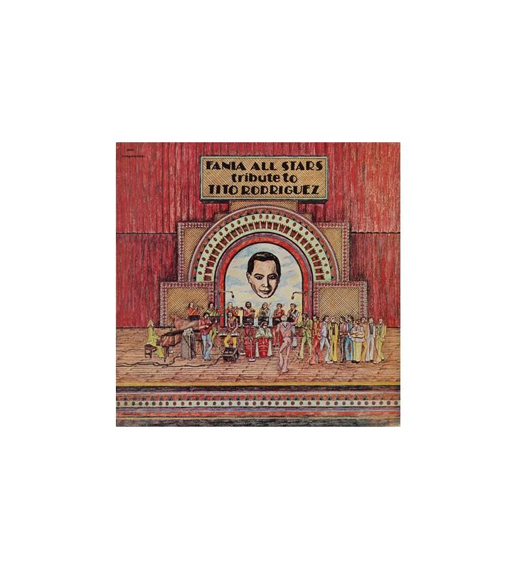 Fania All Stars - Tribute To Tito Rodriguez (LP, Album) vinyle mesvinyles.fr