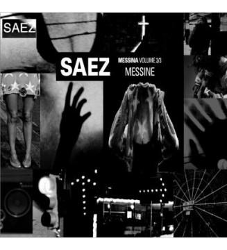 Saez - Messina - Messine (2xLP, Album) vinyle mesvinyles.fr