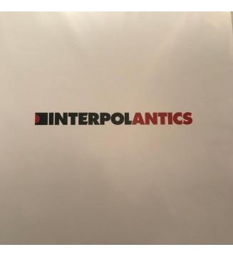 Interpol - Antics (LP, Album, RE, RP) vinyle mesvinyles.fr