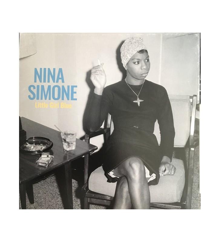 Nina Simone - Little Girl Blue (LP, Comp, RM, 180) vinyle mesvinyles.fr