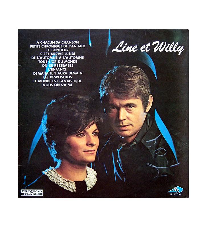Line Et Willy - Line Et Willy (LP) vinyle mesvinyles.fr