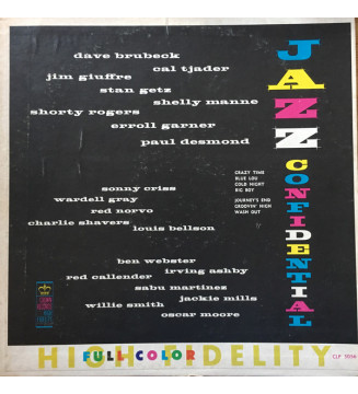 Various - Jazz Confidential (LP, Comp, Mono, RP) vinyle mesvinyles.fr
