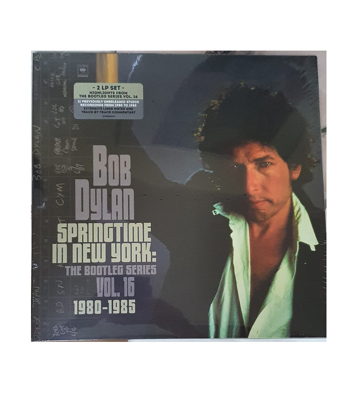 Bob Dylan - Springtime In New York: The Bootleg Series Vol. 16 1980–1985 (2xLP, Comp) vinyle mesvinyles.fr