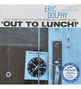 Eric Dolphy - Out To Lunch! (LP, Album, RE) new vinyle mesvinyles.fr