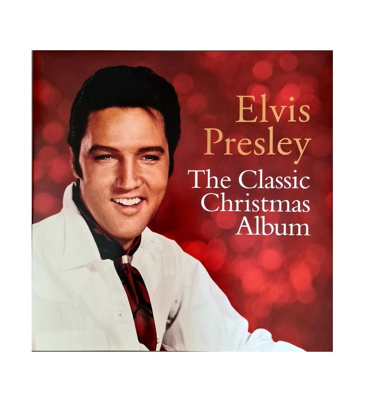 Elvis Presley - The Classic Christmas Album (LP, Comp, RE) vinyle mesvinyles.fr