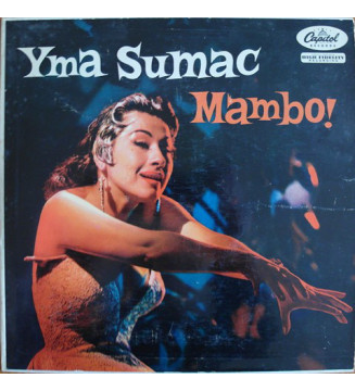 "Yma Sumac - Mambo! (10"", Album, Mono) vinyle mesvinyles.fr"
