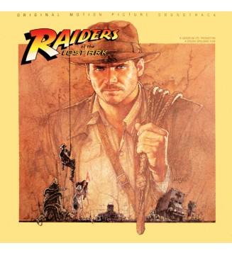 John Williams (4) - Raiders Of The Lost Ark (Original Motion Picture Soundtrack) (LP, Album) vinyle mesvinyles.fr