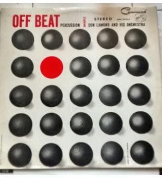 Don Lamond And His Orchestra - Off Beat Percussion (LP, Album) vinyle mesvinyles.fr