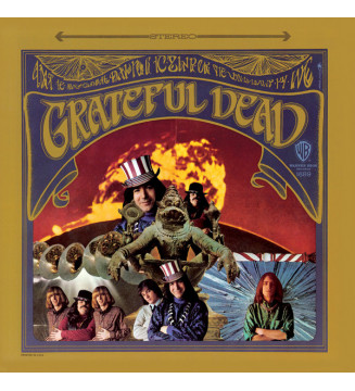 The Grateful Dead - The Grateful Dead (LP, RE, RM, 50t) vinyle mesvinyles.fr