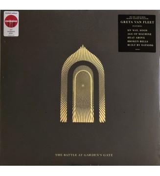 Greta Van Fleet - The Battle At Garden's Gate (2xLP, Album, Ltd, Gre) vinyle mesvinyles.fr