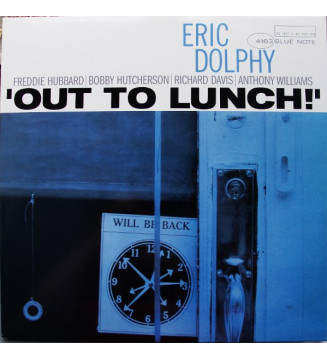 Eric Dolphy - Out To Lunch! (LP, Album, RE) vinyle mesvinyles.fr