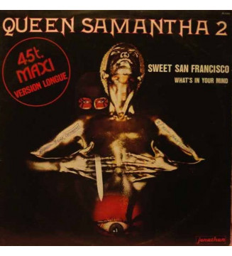 """Queen Samantha 2* - Sweet San Francisco / What's In Your Mind (12"""", Maxi) vinyle mesvinyles.fr"""