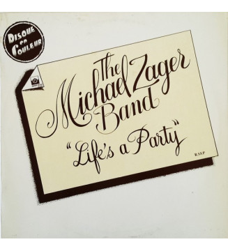 The Michael Zager Band - Life's A Party (LP, Album, Ltd, Yel) mesvinyles.fr