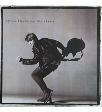 Bryan Adams - Cuts Like A Knife (LP, Album, Ind) vinyle mesvinyles.fr