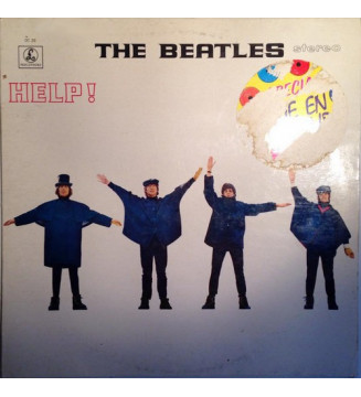 The Beatles - Help! (LP, Album, Ltd, RE, Ora) vinyle mesvinyles.fr