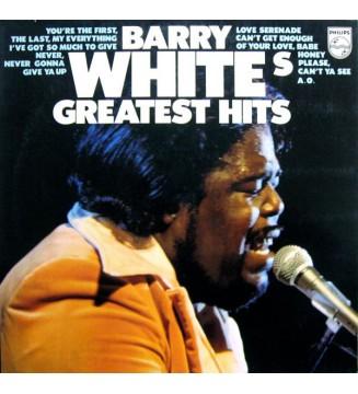 Barry White - Barry White's Greatest Hits (LP, Comp, Gat) vinyle mesvinyles.fr