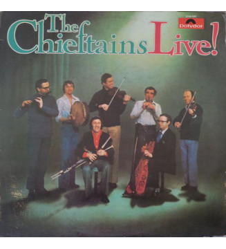 The Chieftains - Live! (LP, Album) vinyle mesvinyles.fr