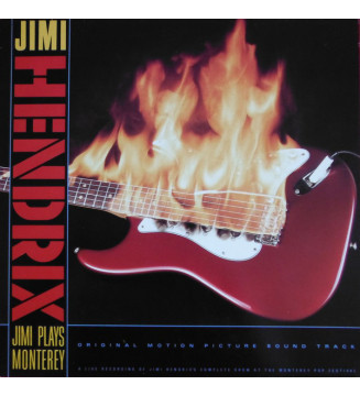 Jimi Hendrix - Jimi Plays Monterey (LP, Album) vinyle mesvinyles.fr