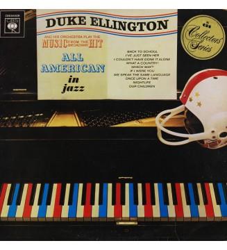 Duke Ellington And His Orchestra - All American In Jazz (LP, Album, RE) vinyle mesvinyles.fr