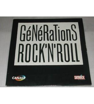 Various - Générations Rock'n'Roll (2xLP, Comp) vinyle mesvinyles.fr