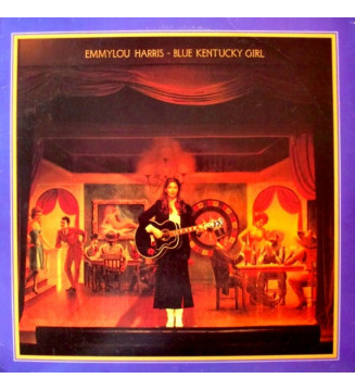 Emmylou Harris - Blue Kentucky Girl (LP, Album, San) vinyle mesvinyles.fr