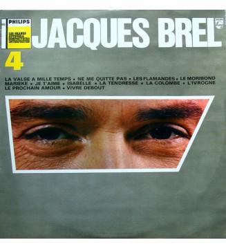 Jacques Brel - N° 4 (LP, Comp) vinyle mesvinyles.fr