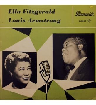 """Ella Fitzgerald And Louis Armstrong - Ella Fitzgerald And Louis Armstrong (10"""", Mono) vinyle mesvinyles.fr"""