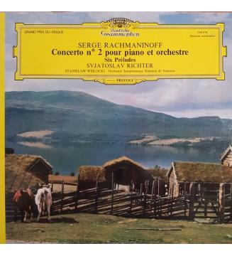 Rachmaninoff* - Svjatoslav Richter* - Concerto N°2 Pour Piano Et Orchestre - 6 Préludes (LP, RE, Gat) vinyle mesvinyles.fr