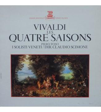Vivaldi*, Piero Toso, I Solisti Veneti / Dir. Claudio Scimone - Les Quatre Saisons (LP) vinyle mesvinyles.fr