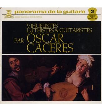 Oscar Cáceres - Vihuelistes, Luthistes & Guitaristes (LP) vinyle mesvinyles.fr