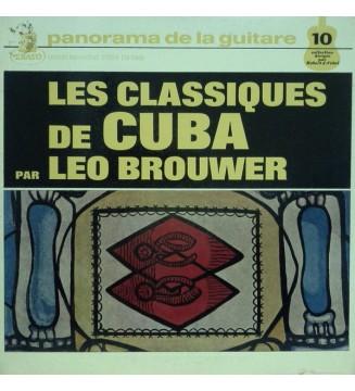 Leo Brouwer - Les Classiques De Cuba (LP, Album) vinyle mesvinyles.fr