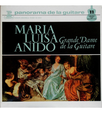 María Luisa Anido - Grande Dame De La Guitare (LP) vinyle mesvinyles.fr