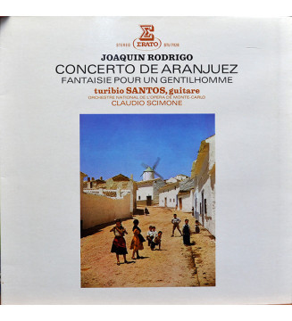 Joaquín Rodrigo - Turibio Santos ,  Orchestre National de l'Opéra de Monte-Carlo, Claudio Scimone - Concerto De Aranjuez - Fant