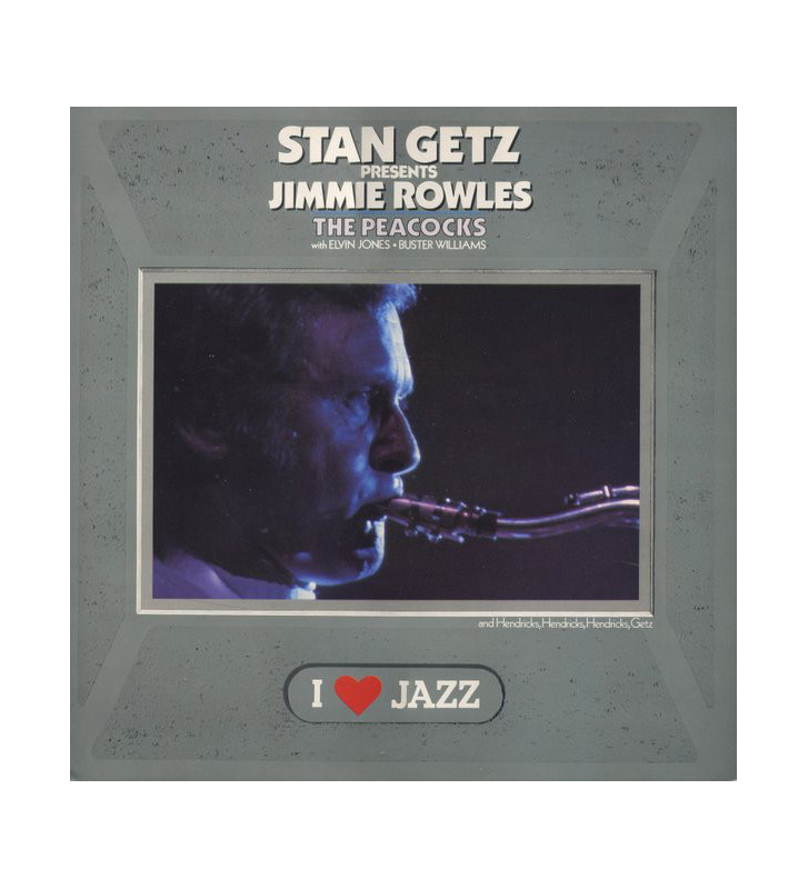 Stan Getz Presents Jimmy Rowles - The Peacocks (LP, Album, RE) vinyle mesvinyles.fr
