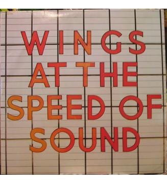 Wings (2) - Wings At The Speed Of Sound (LP, Album, Win) vinyle mesvinyles.fr