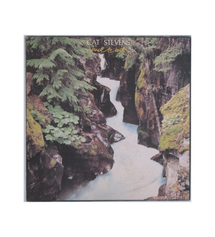 Cat Stevens - Back To Earth (LP, Album) vinyle mesvinyles.fr