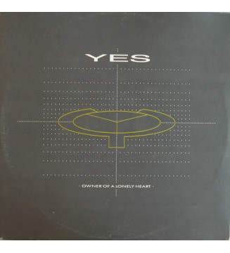 """Yes - Owner Of A Lonely Heart (12"""") vinyle mesvinyles.fr"""