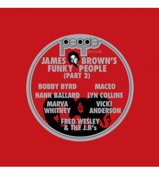 Various - James Brown's Funky People (Part 2) (2xLP, Comp, RE) vinyle mesvinyles.fr