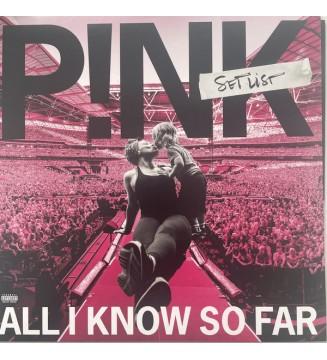 P!NK - All I Know So Far: Setlist (2xLP, Album) vinyle mesvinyles.fr