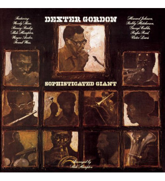 Dexter Gordon - Sophisticated Giant (LP, Album, Bla) new vinyle mesvinyles.fr