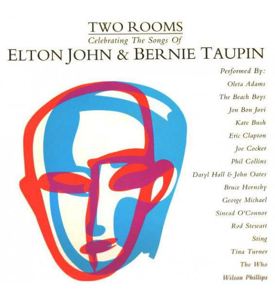 Various - Two Rooms: Celebrating The Songs Of Elton John & Bernie Taupin (2xLP, Comp)
